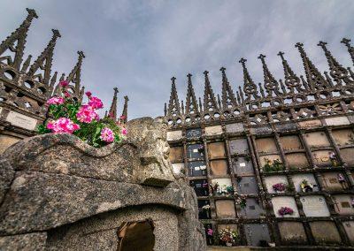 Cementerio neogótico de Goiriz